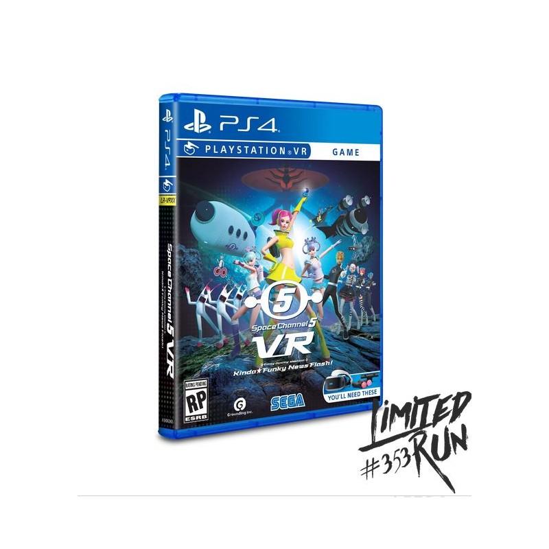 PS4 SPACE CHANNEL 5 VR (LIMITED RUN) - Jeux PS4 au prix de 39,95€