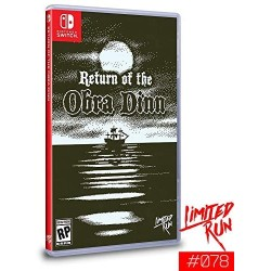 SWITCH RETURN OF THE OBRA DINN (LIMITED RUN) - Jeux Switch au prix de 59,95€