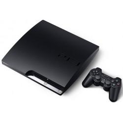 CONSOLE PS3 SLIM 250 GO NOIRE - Consoles PS3 au prix de 79,95€