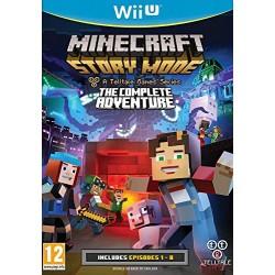 WIU MINECRAFT STORY MODE L AVENTURE COMPLETE - Jeux Wii U au prix de 19,95€