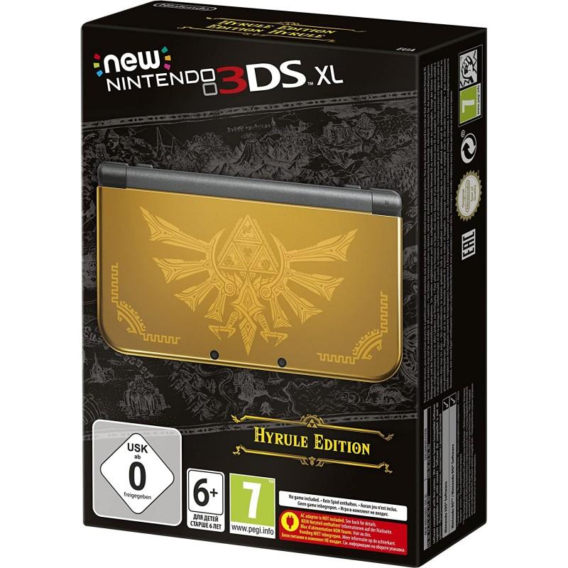 CONSOLE NEW 3DS XL EDITION LIMITEE THE LEGEND OF ZELDA EN BOITE - Consoles 3DS au prix de 279,95€