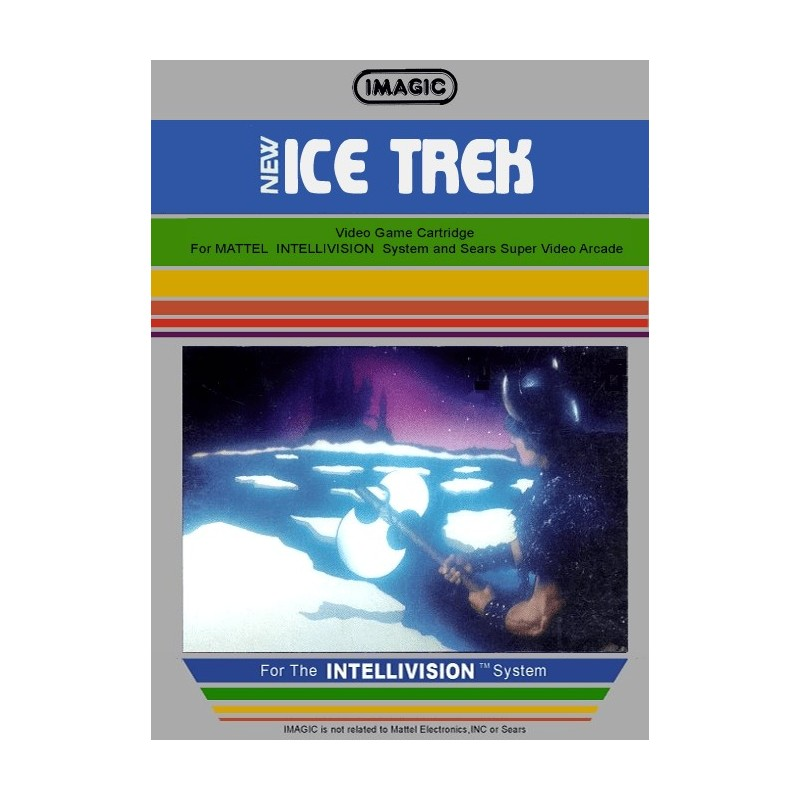 INT NEW ICE TREK - Intellevision au prix de 9,95 €