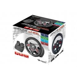 PS4 VOLANT PEDALIER MULTI SUPPORT RACING WHEEL SV 400 - Accessoires PS4 au prix de 59,95€