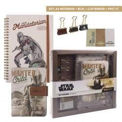 SET PAPETERIE STAR WARS THE MANDALORIAN - Papeterie au prix de 14,95€