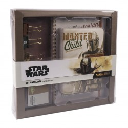 SET PAPETERIE STAR WARS THE MANDALORIAN - Papeterie au prix de 14,95 €