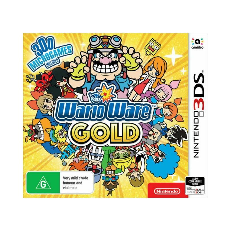 3DS WARIOWARE GOLD (NEUF) - Jeux 3DS au prix de 14,95€