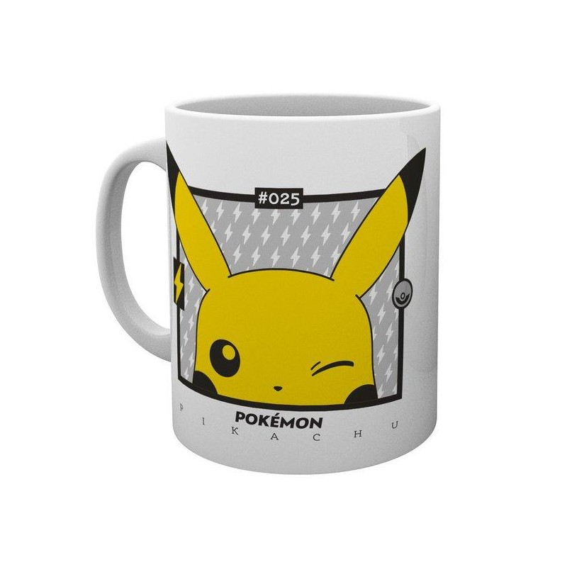MUG POKEMON PIKACHU WINK 300ML - Mugs au prix de 9,95€