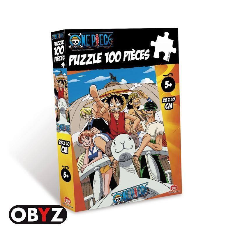 PUZZLE ONE PIECE VOGUE MERRY 100 PIECES - Puzzles & Jouets au prix de 14,95€