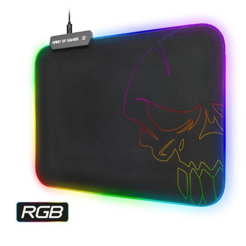TAPIS DE SOURIS SPIRIT OF GAMER LEG RGB 10 MODES 35X25.5 - Souris au prix de 19,95€