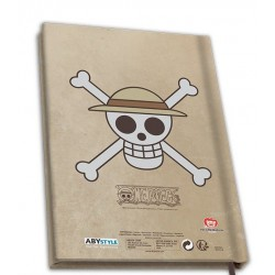 NOTEBOOK ONE PIECE LUFFY WANTED A5 - Papeterie au prix de 9,95€