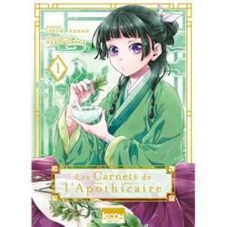 LES CARNETS DE L APOTHICAIRE T01 - Manga au prix de 7,90€
