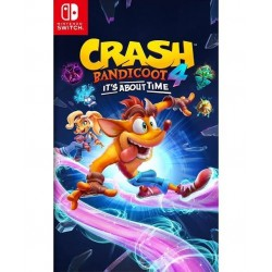 SWITCH CRASH BANDICOOT 4 IT S ABOUT TIME - Jeux Switch au prix de 59,95 €