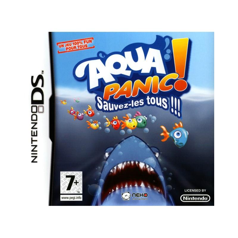DS AQUA PANIC SAUVEZ LES TOUS - Jeux DS au prix de 2,95€