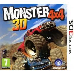 3DS MONSTER 4X4 3D - Jeux 3DS au prix de 9,95€