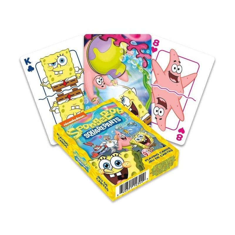 JEU DE CARTE BOB L EPONGE 52 CARTES - Cartes à collectionner ou jouer au prix de 6,95€