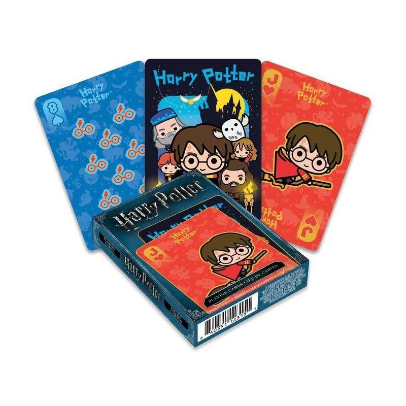 JEU DE CARTE HARRY POTTER CHIBI 52 CARTES - Cartes à collectionner ou jouer au prix de 6,95€