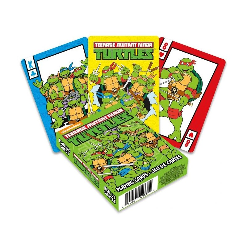 JEU DE CARTE TNMT 52 CARTES - Cartes à collectionner ou jouer au prix de 6,95€