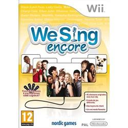 WII WE SING ENCORE - Jeux Wii au prix de 6,95€