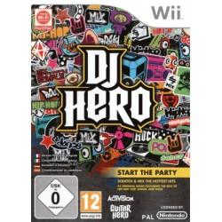 WII DJ HERO - Jeux Wii au prix de 4,95€