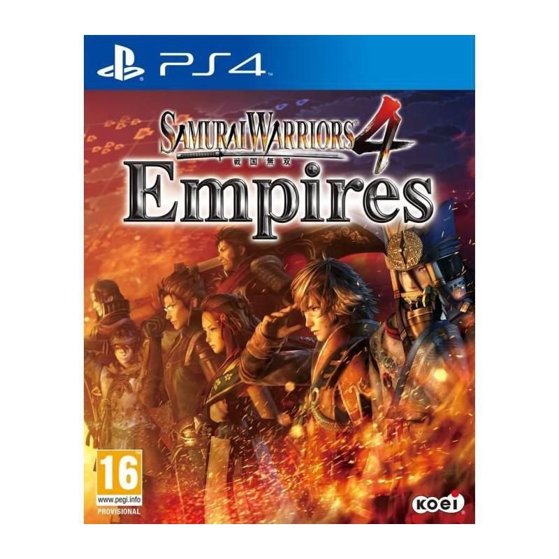PS4 SAMURAI WARRIORS 4 EMPIRES OCC - Jeux PS4 au prix de 17,95€