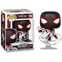 POP SPIDER MAN 768 MILES MORALES TRACK SUIT - Figurines POP au prix de 14,95€