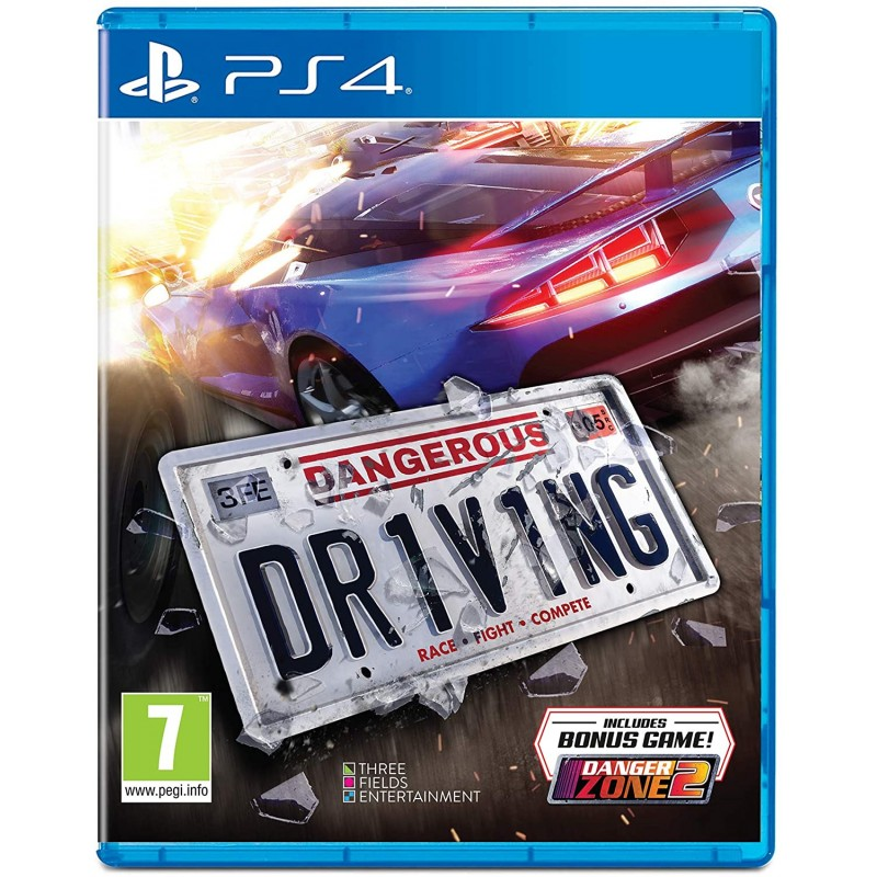 PS4 DANGEROUS DRIVING OCC - Jeux PS4 au prix de 14,95€