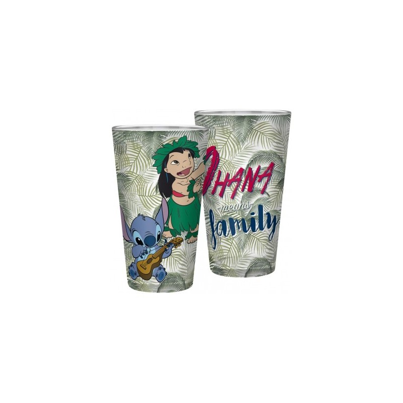 VERRE DISNEY LILO ET STICH 400ML - Mugs au prix de 9,95€