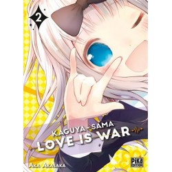 KAGUYA SAMA LOVE IS WAR T02 - Manga au prix de 7,20 €