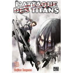 L ATTAQUE DES TITANS T33 - Manga au prix de 6,95€