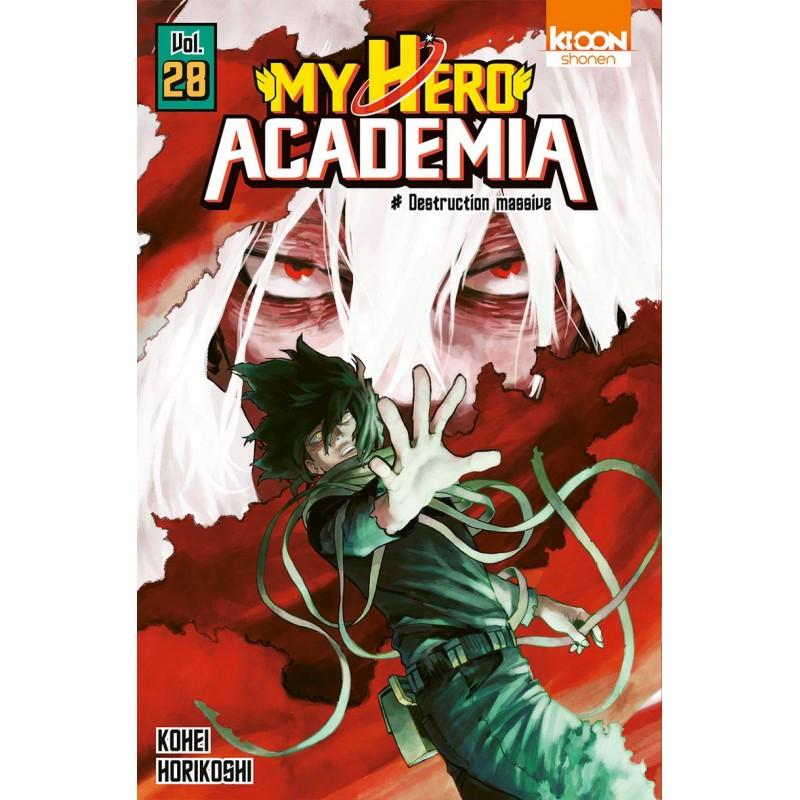 MY HERO ACADEMIA T28 - Manga au prix de 6,60€