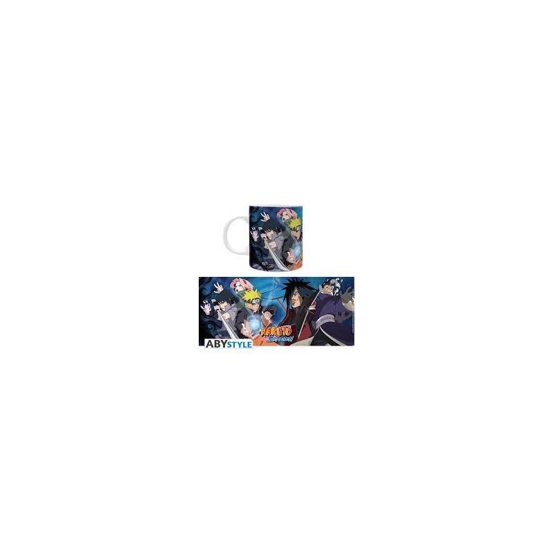 MUG NARUTO SHIPPUDEN NARUTO VS MADARA 320ML - Mugs au prix de 9,95€