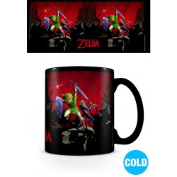 MUG THE LEGEND OF ZELDA THERMOREACTIF BATTLE 300ML - Mugs au prix de 12,95€