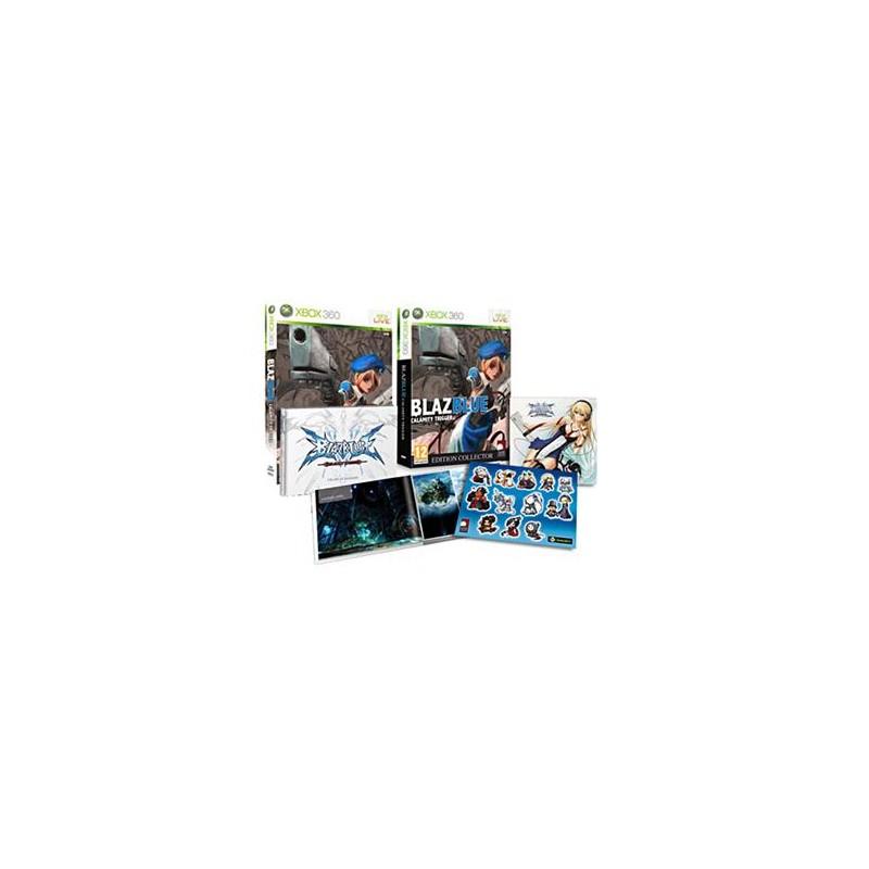 X360 BLAZBLUE CALAMITY TRIGGER EDITION COLLECTOR - Jeux Xbox 360 au prix de 39,95€