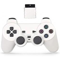 MANETTE PS2 OFF BLANCHE - Jeux PS2 au prix de 14,95€