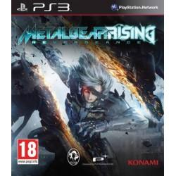 PS3 METAL GEAR SOLID RISING REVENGEANCE - Jeux PS3 au prix de 6,95€