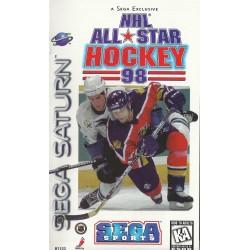 SAT NHL ALL STAR HOCKEY 98 - Jeux Saturn au prix de 14,95€
