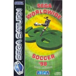 SAT WORLDWIDE SOCCER 98 (SANS NOTICE) - Jeux Saturn au prix de 3,95€