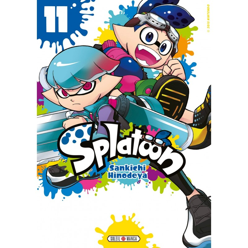 SPLATOON T11 - Manga au prix de 7,99€