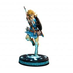 FIGURINE ZELDA BREATH OF THE WILD F4F LINK 25CM - Figurines au prix de 79,95€