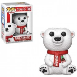 POP COCA COLA 58 POLAR BEAR - Figurines POP au prix de 14,95€