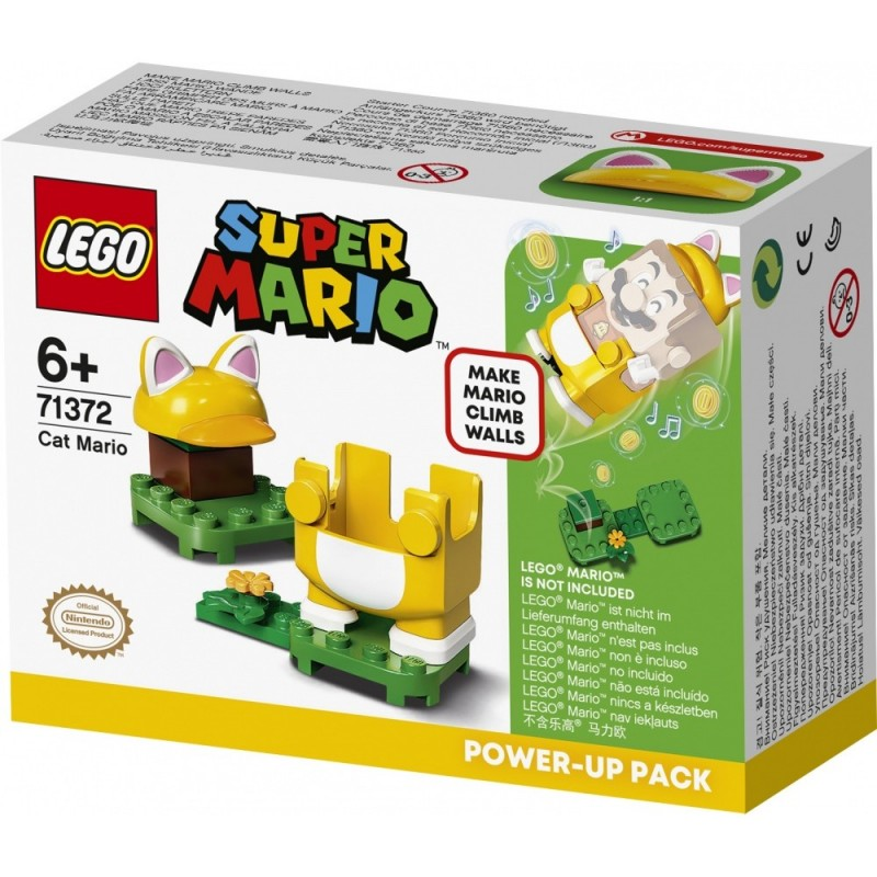 LEGO MARIO 71372 COSTUME MARIO CHAT - Puzzles & Jouets au prix de 9,95€
