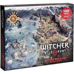 PUZZLE THE WITCHER 3 NORTHERN REALMS MAP 1000 PIECES - Puzzles & Jouets au prix de 19,95€