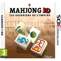 3DS MAHJONG 3D - Jeux 3DS au prix de 11,95€