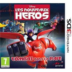 3DS DISNEY LES NOUVEAUX HEROS COMBAT DANS LA BAIE - Jeux 3DS au prix de 9,95€