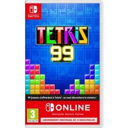 SWITCH TETRIS 99 + ABONNEMENT 12 MOIS ONLINE - Jeux Switch au prix de 29,95€