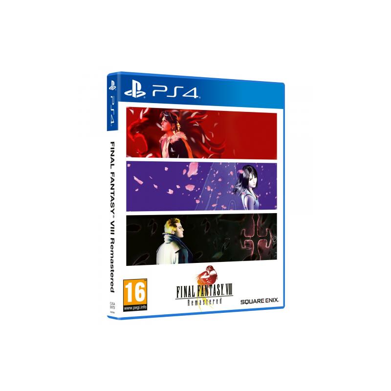 PS4 FINAL FANTASY VIII REMASTERED - Jeux PS4 au prix de 24,95€