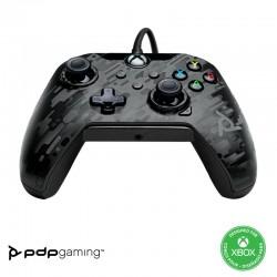 MANETTE FILAIRE XONE PC NOIR CAMO PDP - Accessoires Xbox One au prix de 39,95€