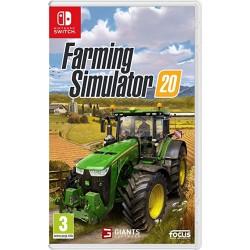 SWITCH FARMING SIMULATOR 20 - Jeux Switch au prix de 29,95€