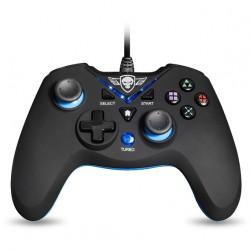 PS3 MANETTE FILAIRE XGP WIRED BLUE PS3PC - Accessoires PS3 au prix de 19,95€