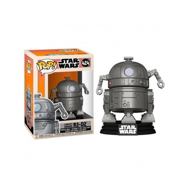 POP STAR WARS 424 R2D2 CONCEPT - Figurines POP au prix de 14,95€